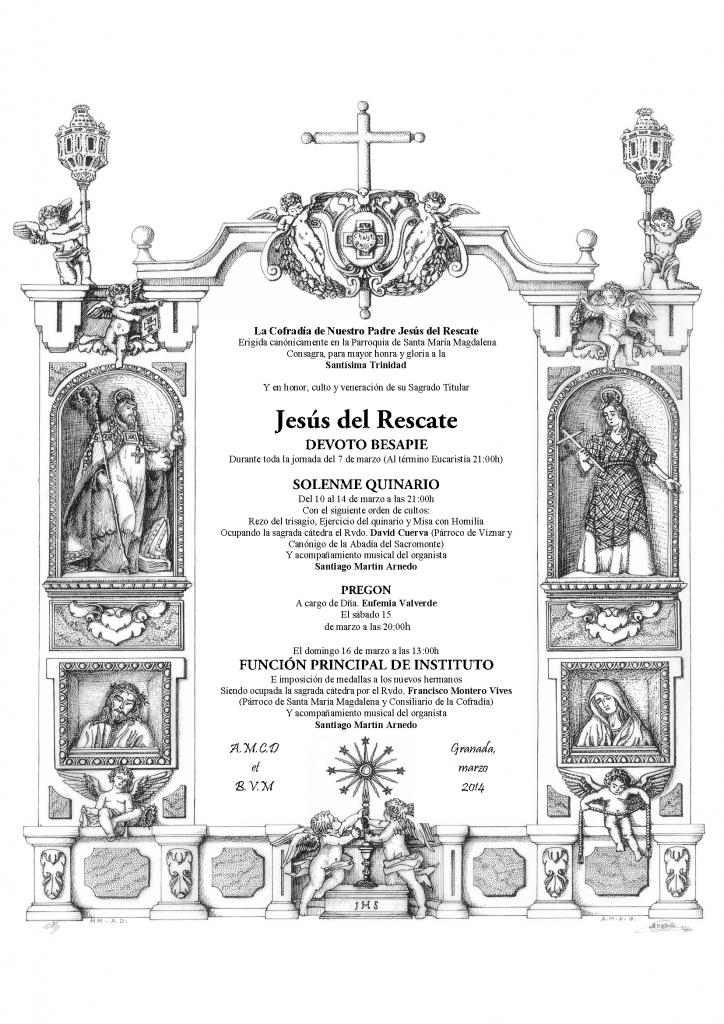 Cultos Jesus del Rescate 2014